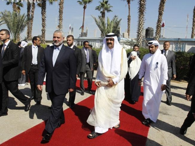 Qatar's Emir Pays Historic Visit to Gaza