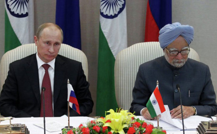 Russia Inks Major Arms Deal with India