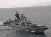 Russia Sends Seven Warships to Syria