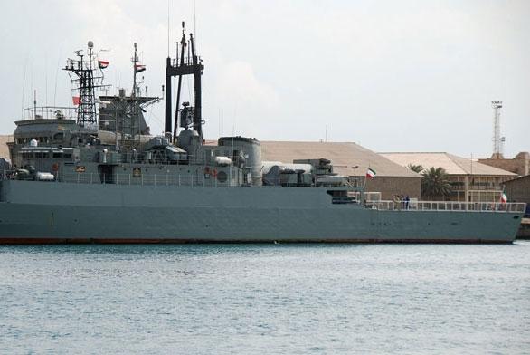 Two Iranian Warships Dock in Port Sudan