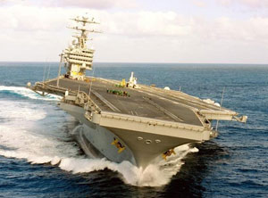 U.S. Navy Sends Aircraft Carriers Back to Gulf