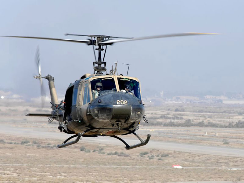 US Gives 6 Huey 2 Helicopters to Lebanese Air Force