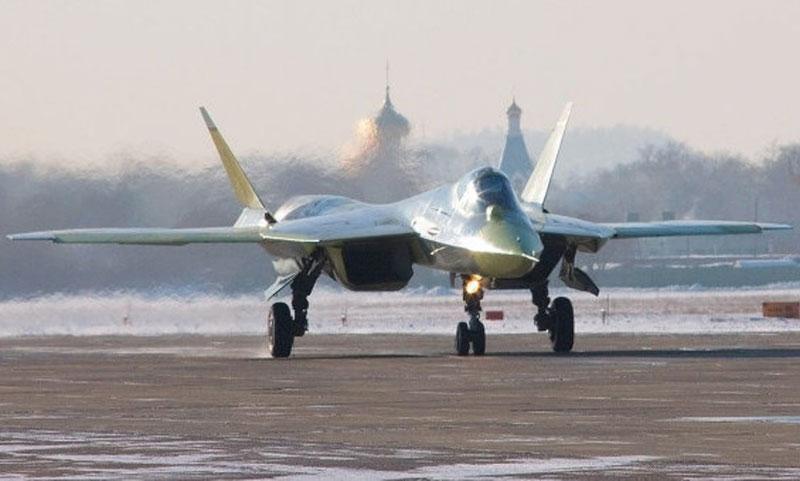 5th Gen Sukhoi T-50 Completes 1st Long-Range Flight