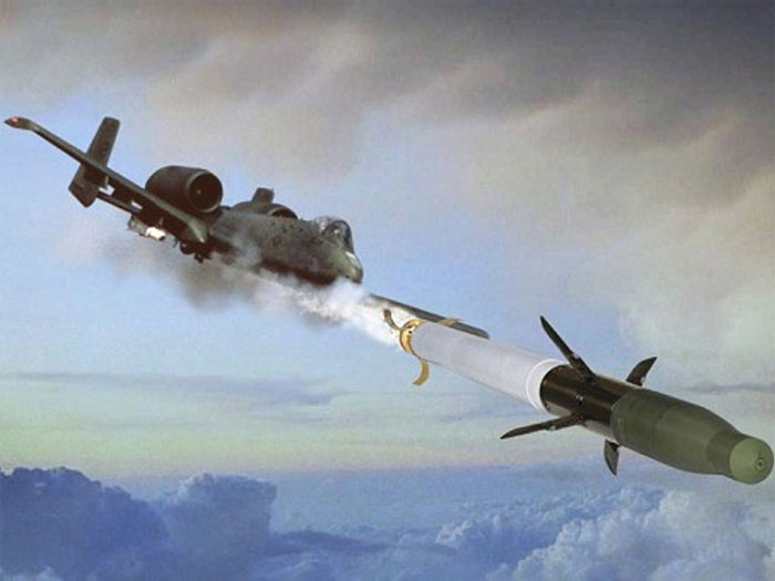 BAE Systems' APKWS Rocket Engages Targets from A-10 Jet