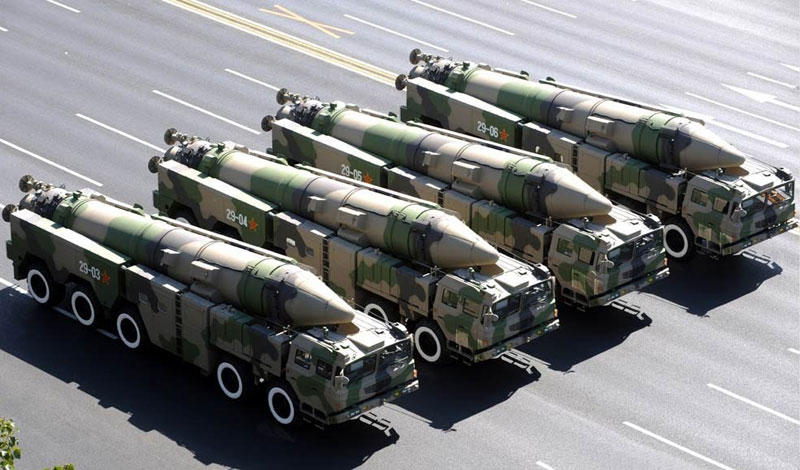 China Reveals its Military Structure for First Time