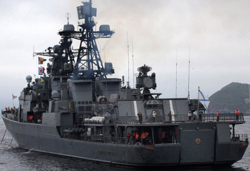 Russian Pacific Fleet Warships Reaching Mediterranean Sea