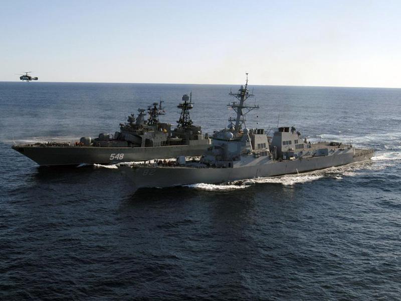 Russian Warships Sent to Mediterranean