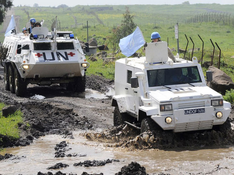 U.N. Sends Extra Armored Carriers to Golan Heights