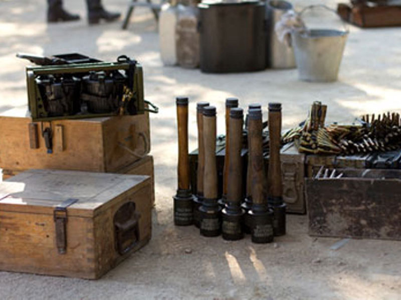 400-Tonne Arms Shipment Reaches Syrian Rebels