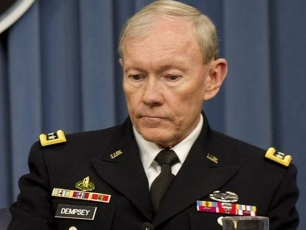 Dempsey Cautious Over Armed Intervention in Syria