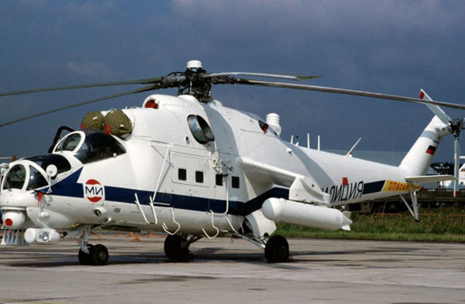 Iraq Takes Collection of 1st 4 Mi-35 Helicopter Gunships