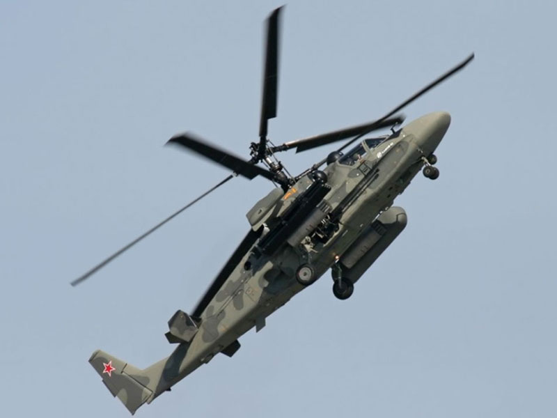 Kamov, Sagem Team Up on Ka-52 Alligator Attack Helicopter