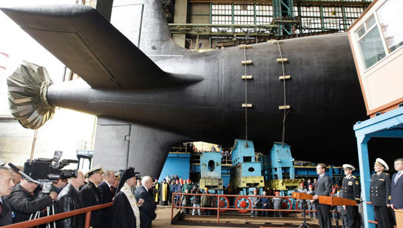 New Russian Attack Submarine to Have Advanced Sensors
