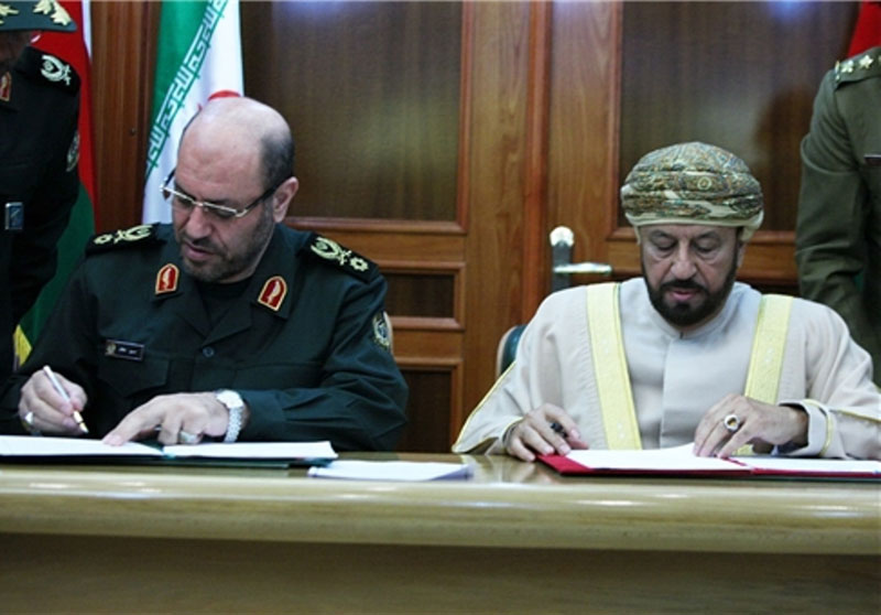 Oman, Iran Sign MoU on Defense Cooperation