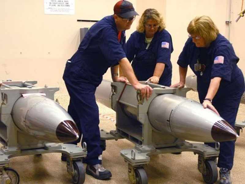 Report: U.S. to Spend $1 Trillion on Nuclear Arms