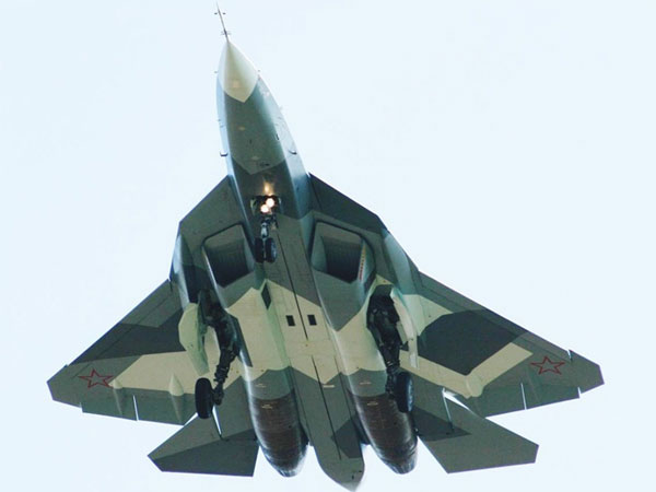 Russia Receives New Sukhoi T-50 Stealth Fighter Prototype