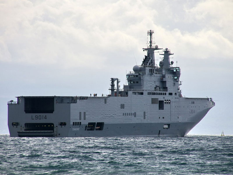 Russia to Receive 1st Mistral Warship Next Month