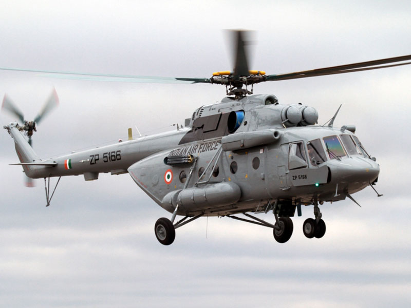 Russian Helicopters Builds 3,500th Version of Mi-17 for India