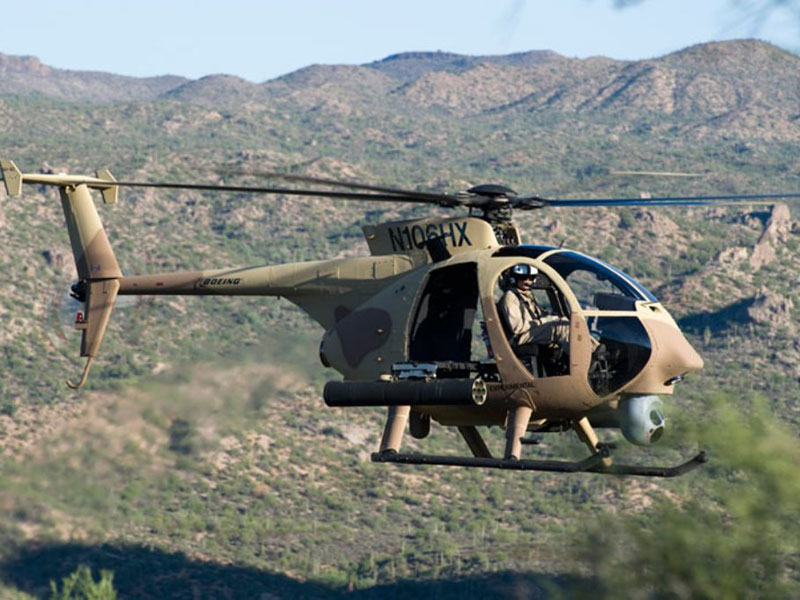 Saudi National Guard to be 1st Boeing AH-6 Customer