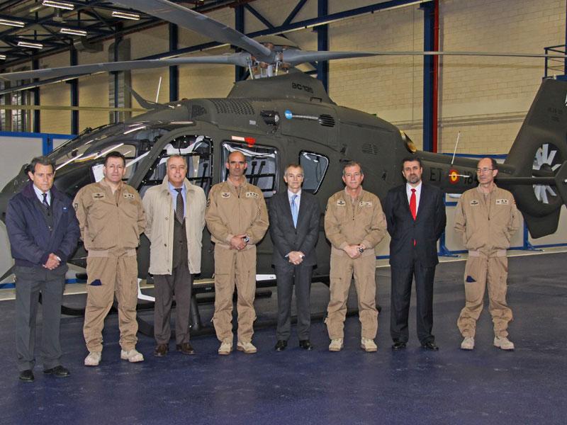 Spanish Ministry of Defense Leading EC135 Operator