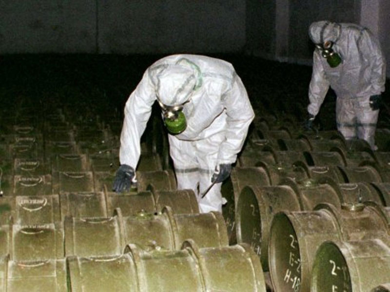 Syria Shipped Out a Third of its Chemical Weapons