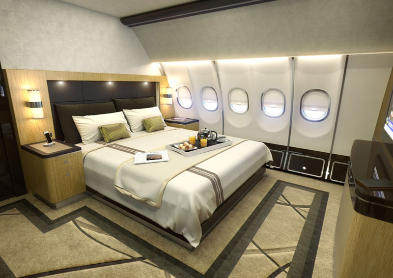 Airbus Launches New VIP Widebody Cabin-Concept
