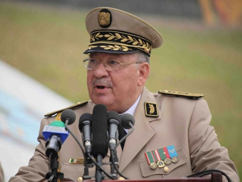 Algerian Chief of Staff Meets Italian Defense Minister