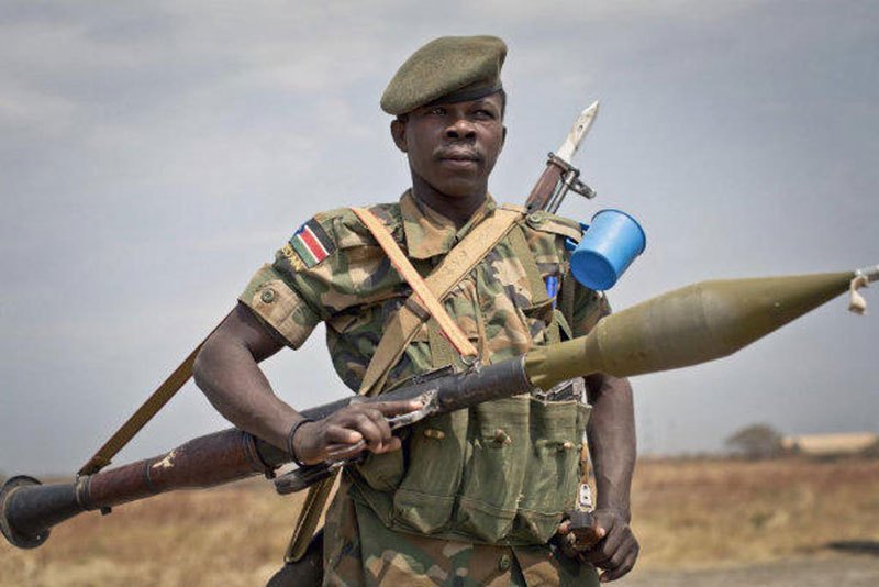 China Suspends Arms Sales to South Sudan