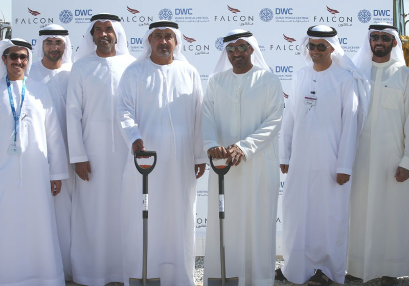 Falcon Aviation Breaks Ground on VIP Completion Centre