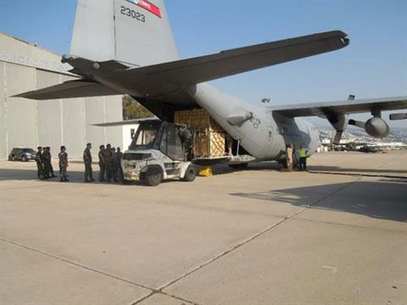Lebanese Army Receives 1,000 Rifles from U.S. Military Aid