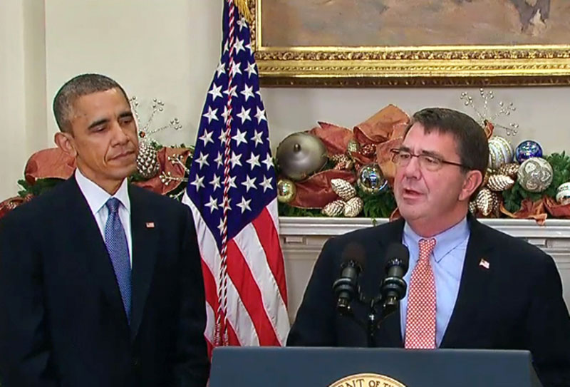 Obama Names Ashton Carter 25th Secretary of Defense