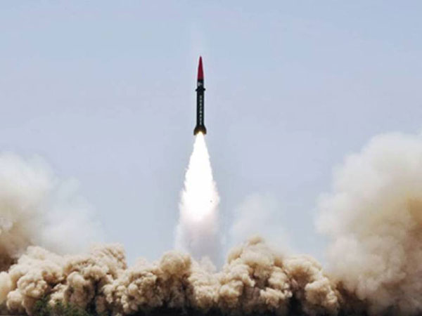 Pakistan Conducts Training Launch of Hatf III Missile