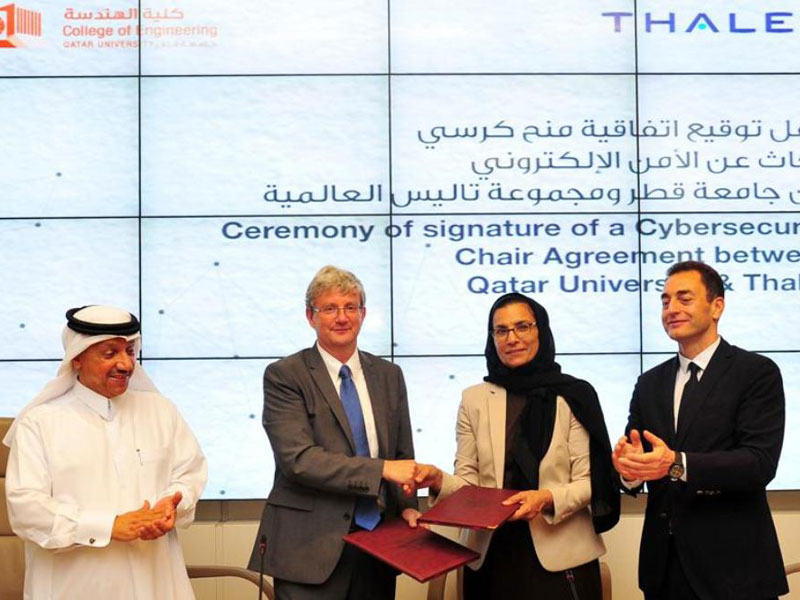 Qatar University, Thales to Open Cybersecurity Chair