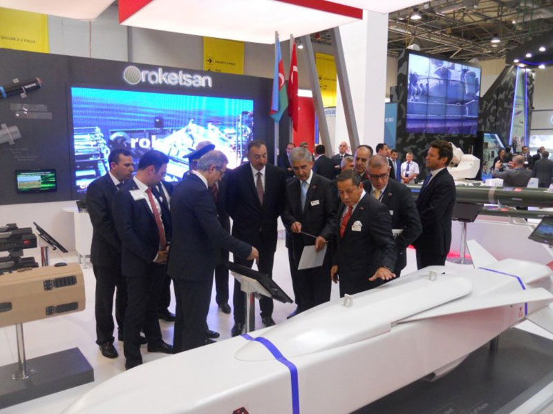 Roketsan Concludes Successful Participation at ADEX 2014