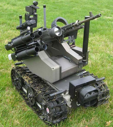 Russia Approves Program to Develop Military Robots