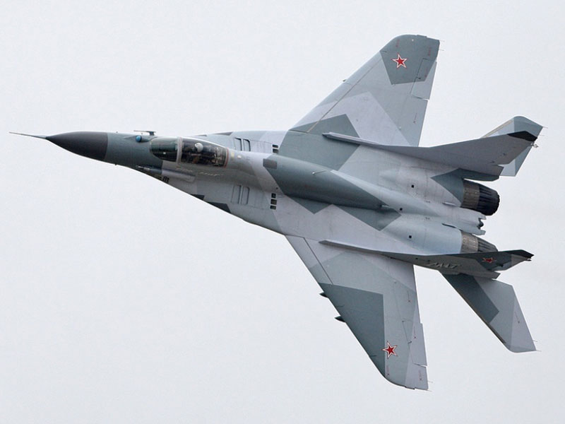Russian Air Force to Receive 16 New MiG-29 SMT Fighters
