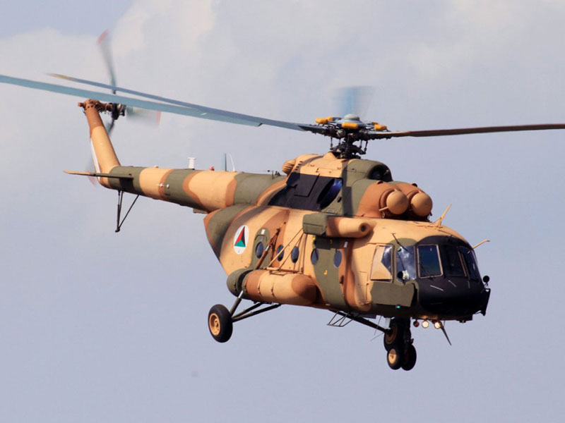 Russian Helicopters at Africa Aerospace and Defence 2014