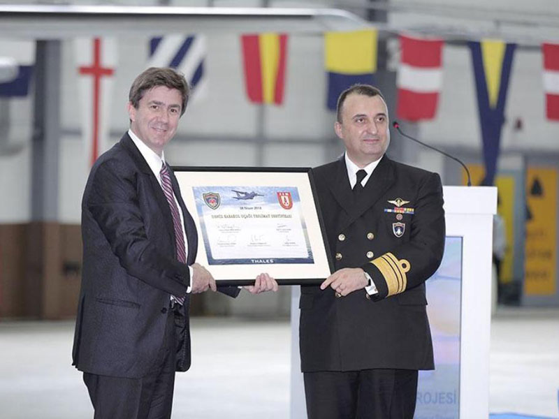 Thales Delivers Final Maritime Patrol Aircraft to Turkey