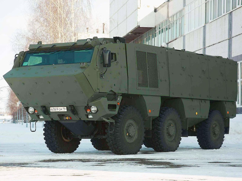 Typhoon-K Military Trucks to Parade on Russia Victory Day