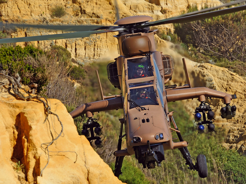 Airbus Helicopters Presents TIGER HAD Helicopter at MSPO