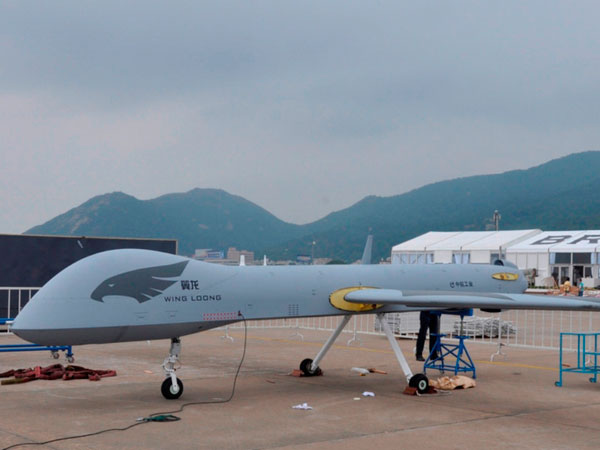 China Unveils Next-Generation Wing Loong II Drone