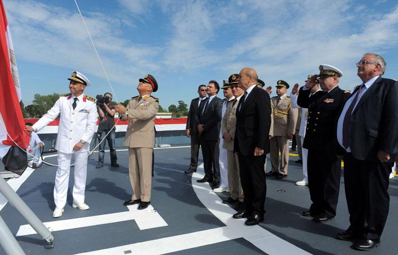 DCNS Transfers FREMM Tahya Misr to Egyptian Navy