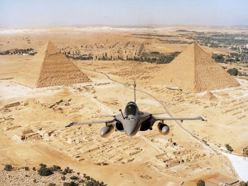 France Delivers 3 Rafale Fighter Jets to Egypt