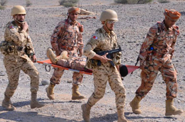 GCC Military Medical Units Conclude Joint Drills in Oman