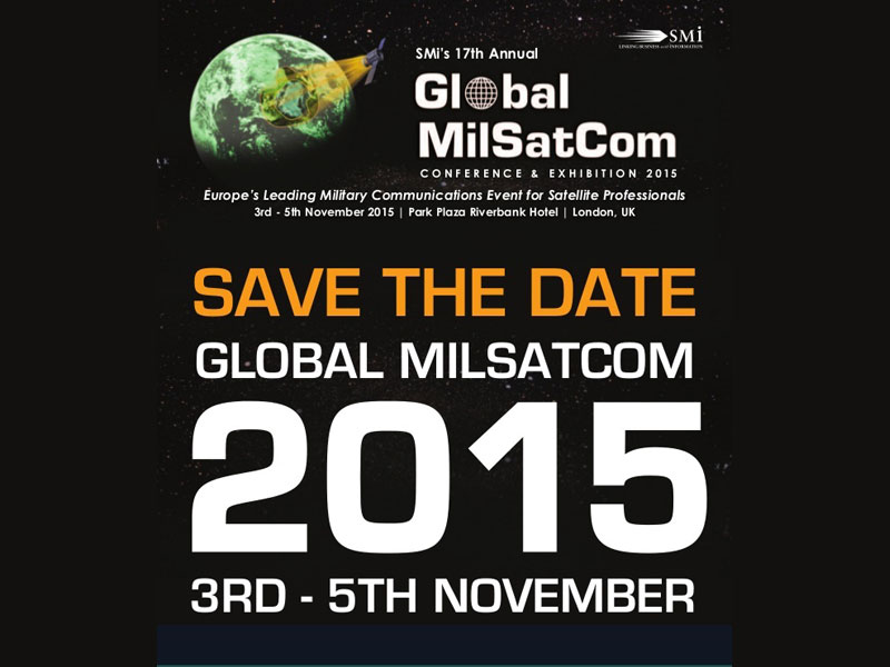 Global MilSatCom 2015 Conference & Exhibition