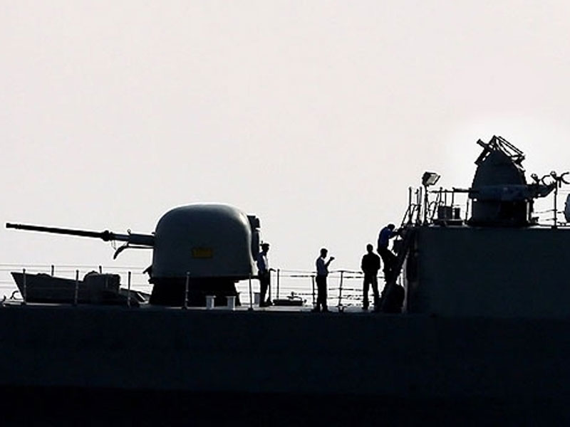 Iran Mounts Chaff Flare System on Jamaran Destroyer