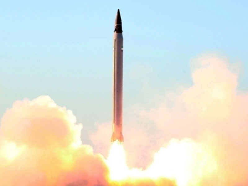 "Iran Test-Fires ""Emad"" Long-Range Ballistic Missile"