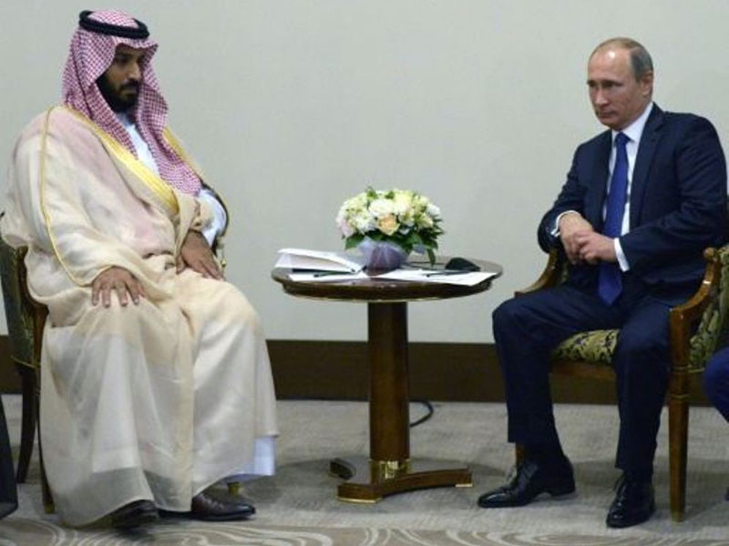Putin Receives Saudi Defense Minister, UAE Crown Prince