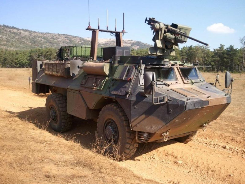 RENAULT TRUCKS Defense Presents the VAB Ultima Génie