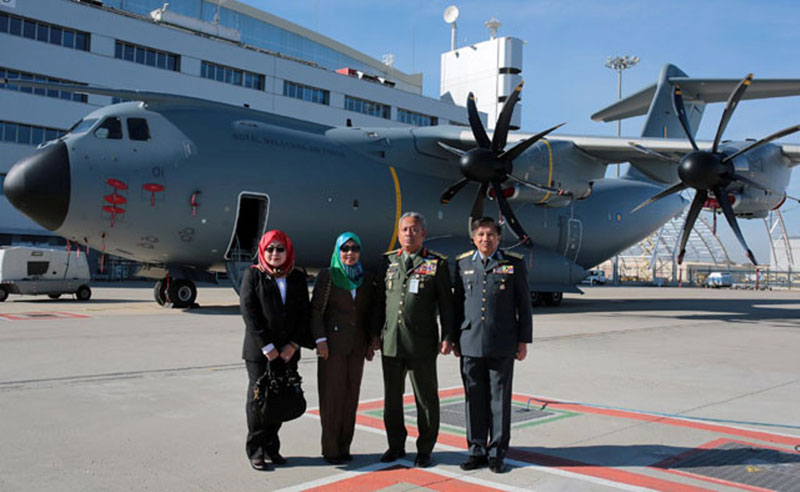 Royal Malaysian Air Force Receives First Airbus A400M